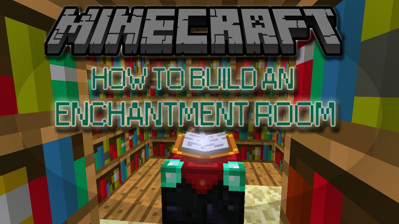 enchanting living room computer desk | How to Build an Enchantment Room in Minecraft - YouTube
