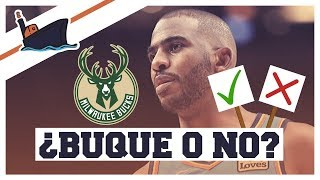 ¿BUQUE O NO? TRASPASO DE CHRIS PAUL A MILWAUKEE