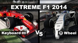 EXTREME F1 2014 - Keyboard vs Wheel!