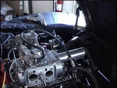 1975 Corvette FNY Build 355 SBC w Weiand 144 supercharger