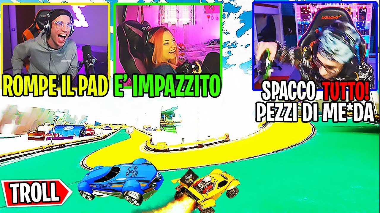 TROLLO TEKNOYD per i CHEAT USATI su ROCKET LEAGUE! W/@Ones  (100% TRIGGERATO)