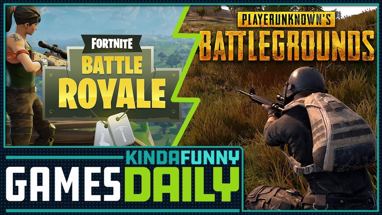 Pubg V Fortnite: Kinda Funny Games Daily 09.22.17