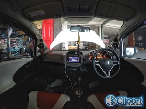 Honda Jazz 3way Speaker Sistem Sound Quality By Cliport-Audio