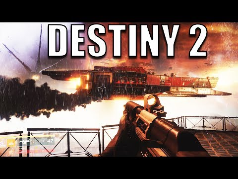 The BEST LOOKING FPS Game at E3!  - Destiny 2 PC Gameplay E3 2017