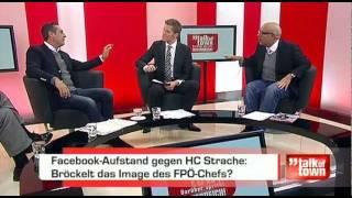 (3/4) HC Strache vs. Ioan Holender vs. Atha Athanasiadis auf PULS 4