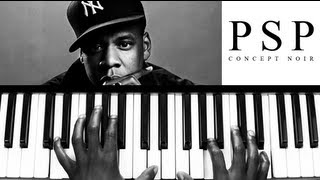 """Somewhere In America"" - Jay Z (Piano Tutorial)"