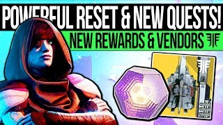 Destiny 2 Forsaken | WEEKLY RESET & NEW QUESTS! 600 Power Gear, Exotic Loot & Eververse (11th Sept)