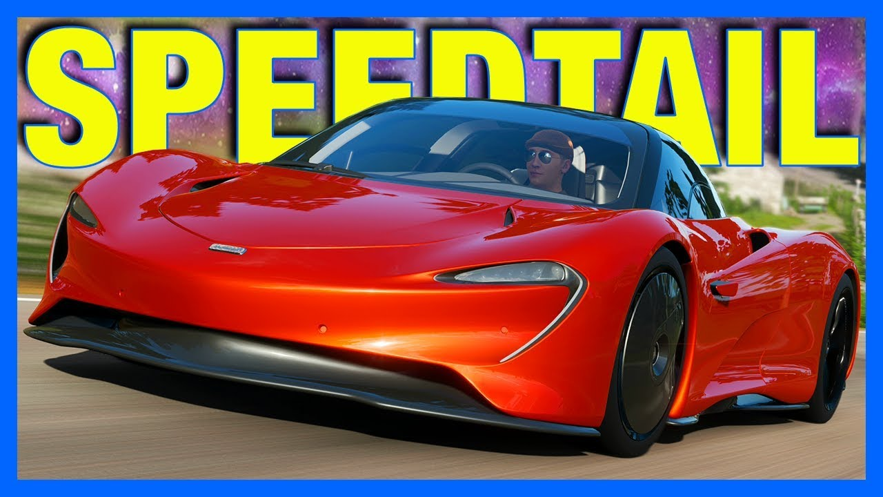 Forza Horizon 4 : McLaren Speedtail... (FH4 Speedtail Top Speed, Test Drive)