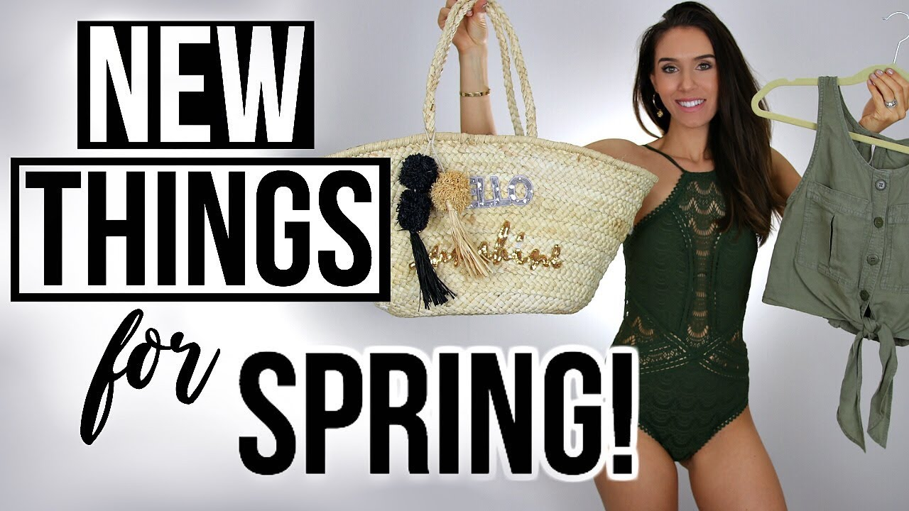 NEW THINGS I BOUGHT FOR SPRING & BEST BATHING SUIT EVER!