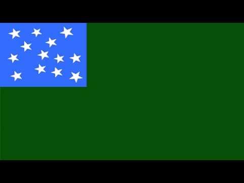 Bandera Secesionista de la Segunda República de Vermont - Flags of The Second Republic of Vermont