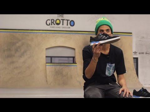newest 50af0 4159e Adidas ZX Vulc Skate Shoes Wear Test Review With Nick Propios - Tactics.com
