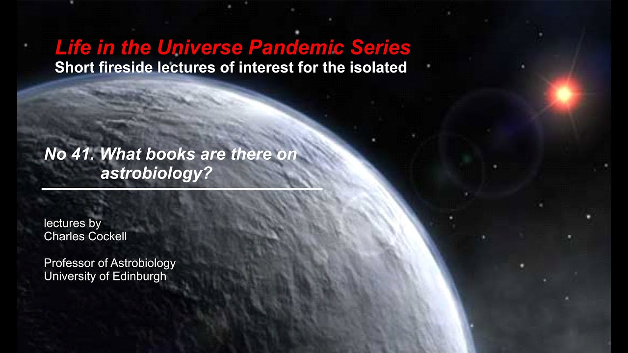 What books can I read about astrobiology?
