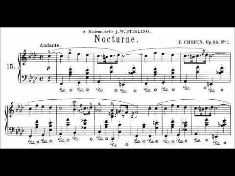 Chopin: Nocturne Op.55 No.1 in F Minor (Moravec)