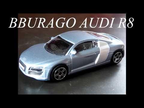 Bburago Burago Audi R8 1 43 Scale Rare Color For Sale On Ebay Fr