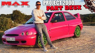 🐒 PROJECT 2000 PART 2! PINK FORD SMASHES SNETTERTON!
