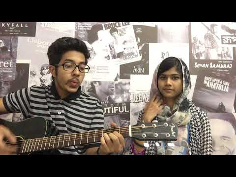 Ahare Jibon || covered  by Sharna & Sampad || Tale of Harmonies || Doob ||chirkut ||Acoustic