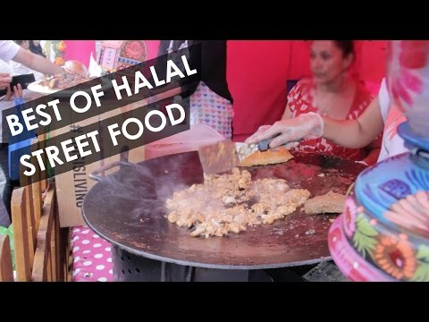 Street food at London Halal Food Festival - ep2