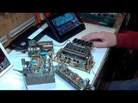 Car Radio Repair Video #4 - 1968 Ford Mustang Philco AM/FM Radio D3AA