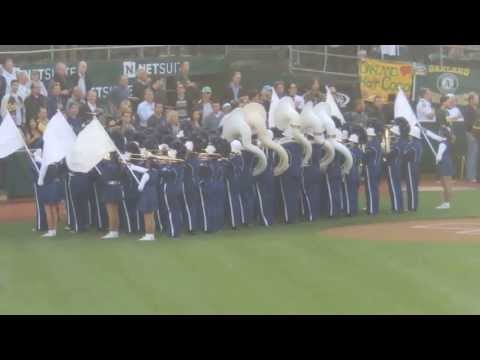 Solano Middle School Chieftian Band - A's vs. Yankees