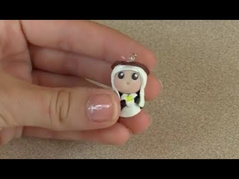 St. Catherine of Siena Chibi Charm Tutorial