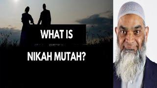 Is Muta (Temporary Marriage) allowed in Islam? - Dr. Shabir Ally