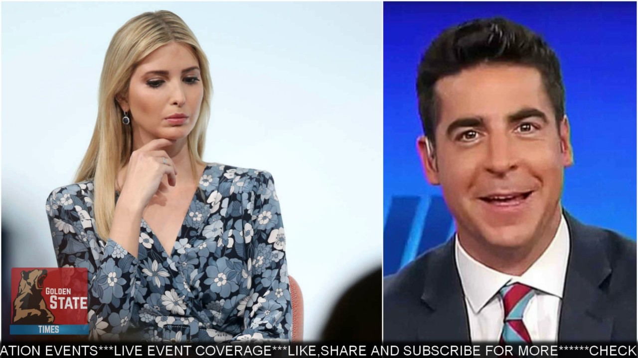 Fox News' Jesse Watters Takes Vacation Amid Controversy Over Ivanka Trump Remarks