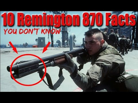 10 Things You Don't Know About The Remington 870 Shotgun
