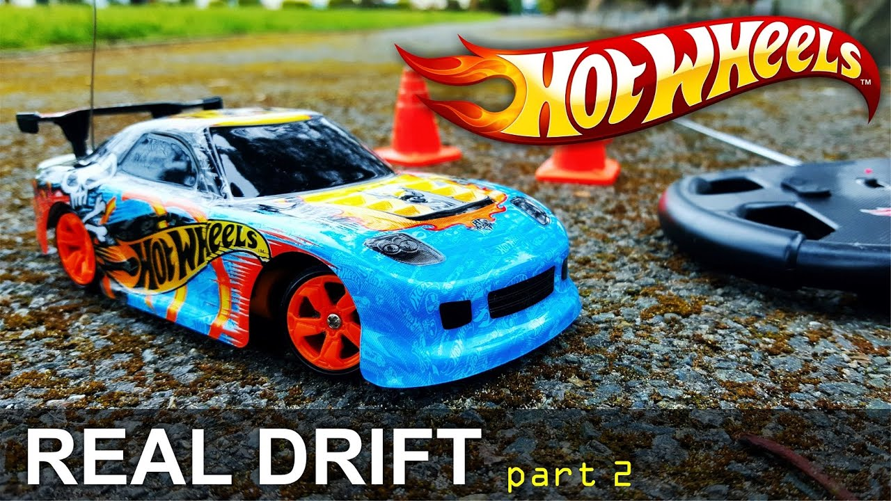 Hot Wheels Real Drift Radio Control Car Test Drive Different