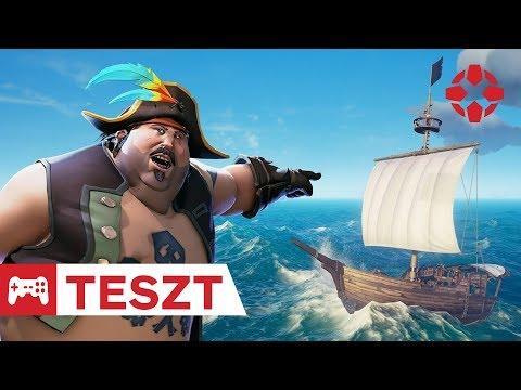 Süllyed a hajó, kapitány!  Sea of Thieves teszt