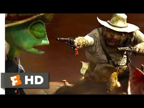 Rango (2011) - Flight Of The Mole People Scene (6/10) | Movieclips