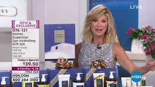 Korres Mediterranean Vanilla Supersize 2piece Gift Set