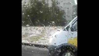 Зима в Воронеже в мае
