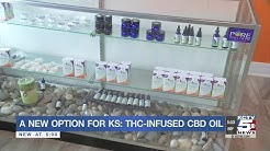 THC-Infused CBD Oil is now a new option for Kansas residents