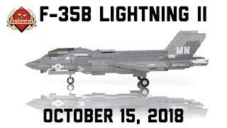 Ф-35В Лайтнінг II - багатоцільовий винищувач STOVL стелс - власні військові Лего