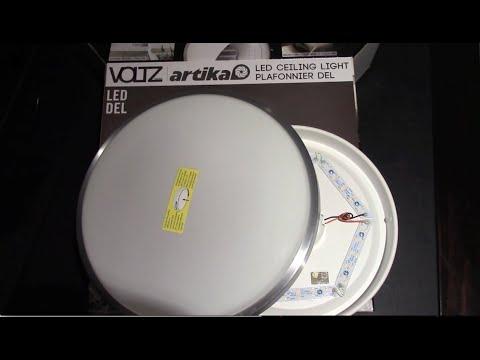 Unboxing the Artika 12 Inch LED Ceiling Light - YouTube