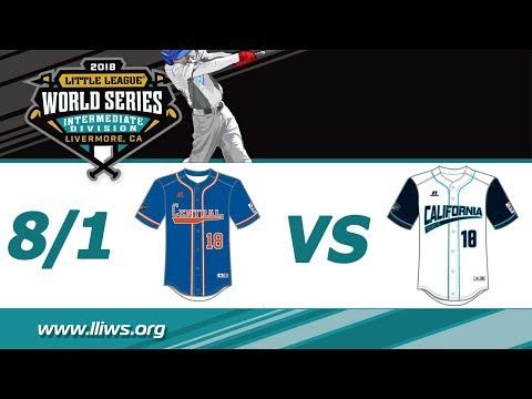 2018 Intermediate World Series Game 14: Central vs CA District 57 (Host)