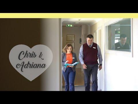 BMIHMS Homestay: staff, Chris and Adriana