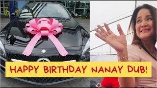 MAINE MENDOZA MAY MALAKING SORPRESA KAY NANAY DUB NGAYONG BIRTHDAY NYA