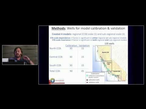 Jason Gurdak - Scale Dependence of Controls on Groundwater Vulnerability to Nitrate Contamination