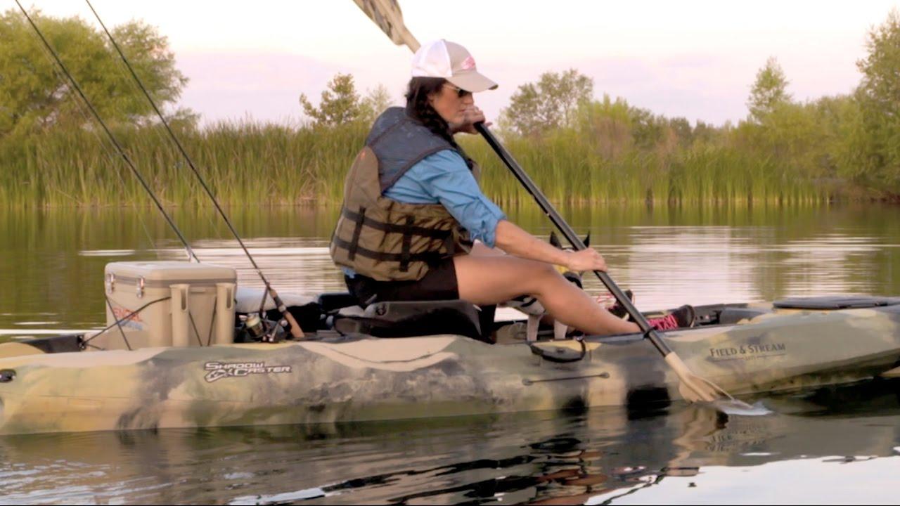 Kayak fishing products field stream shadow caster for Field and stream fishing kayak