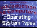 Computer Software : Types of Operating System (03:04)