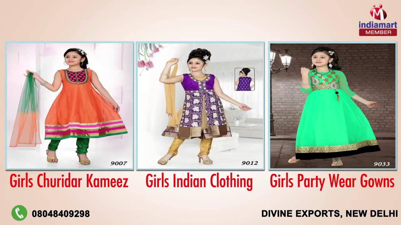 69568c68a Boys and Girls Dresses by Divine Exports, New Delhi - YouTube