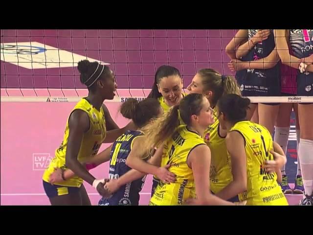 #videoemozioni. Savino Del Bene Scandicci - Imoco Volley Conegliano