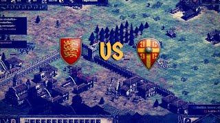 Briten vs Byzantiner auf Arena | Age of Empires 2 Definitive Edition [Rangliste]