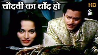 चौदवीं का चाँद हो - Chaudhvin Ka Chand Ho (Md.Rafi) - HD वीडियो सोंग