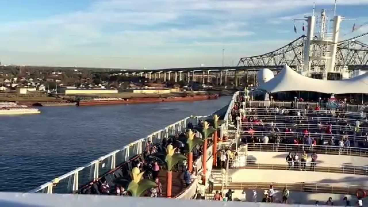 Sailing Out Of New Orleans On The NCL Norwegian Dawn January - Cruise out of new orleans
