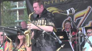 "George Lake Big Band: ""The Rotten Kid"", Beaches Jazz Fest, Toronto 2014"