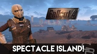 Fallout 4 - HOW TO UNLOCK SPECTACLE ISLAND! (Awesome Fallout 4 Settlement)