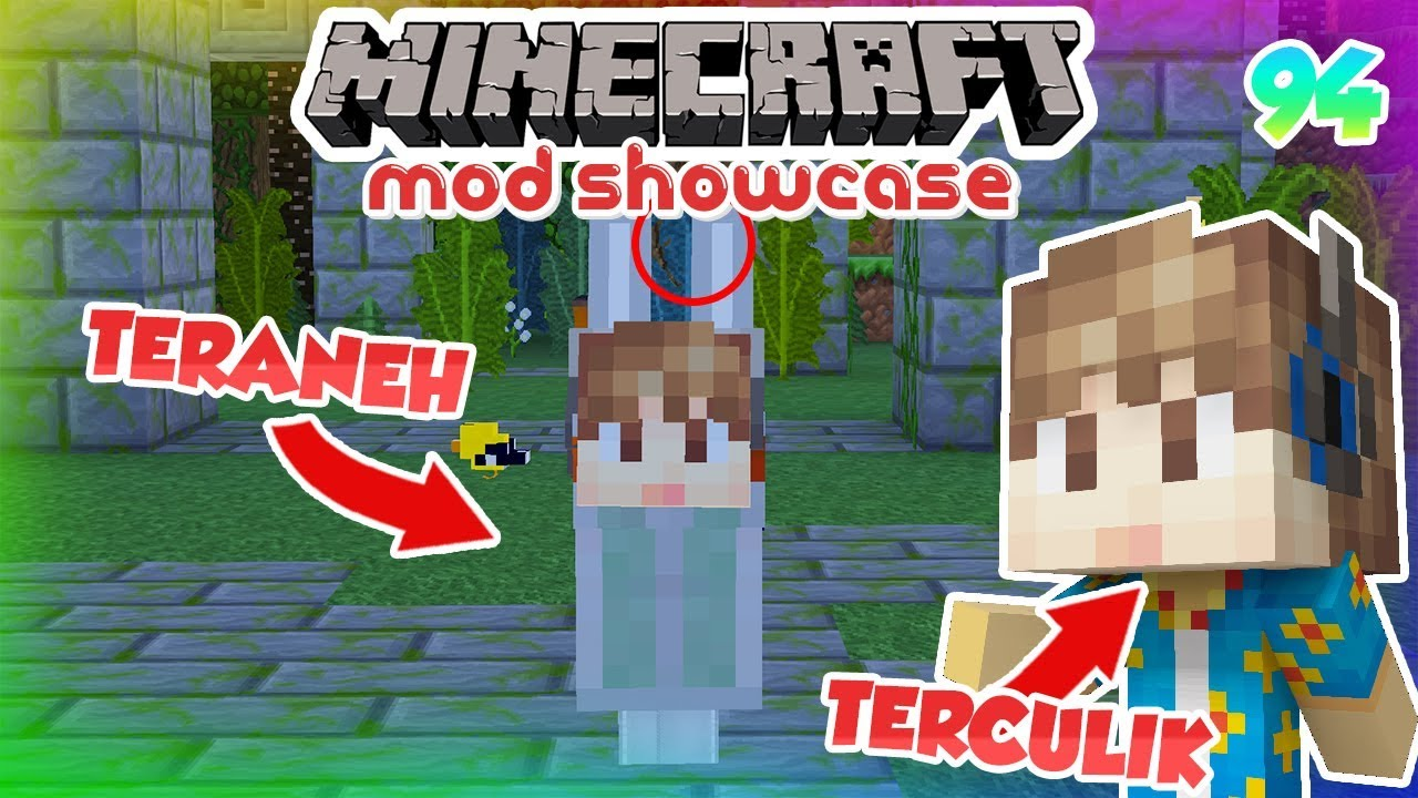 Makhluk Paling Aneh Di Twilight Forest Minecraft Mod Showcase Indonesia