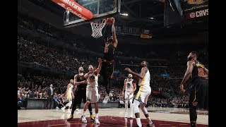 LeBron's AMAZING Pass To Himself For The Slam From All Angles!